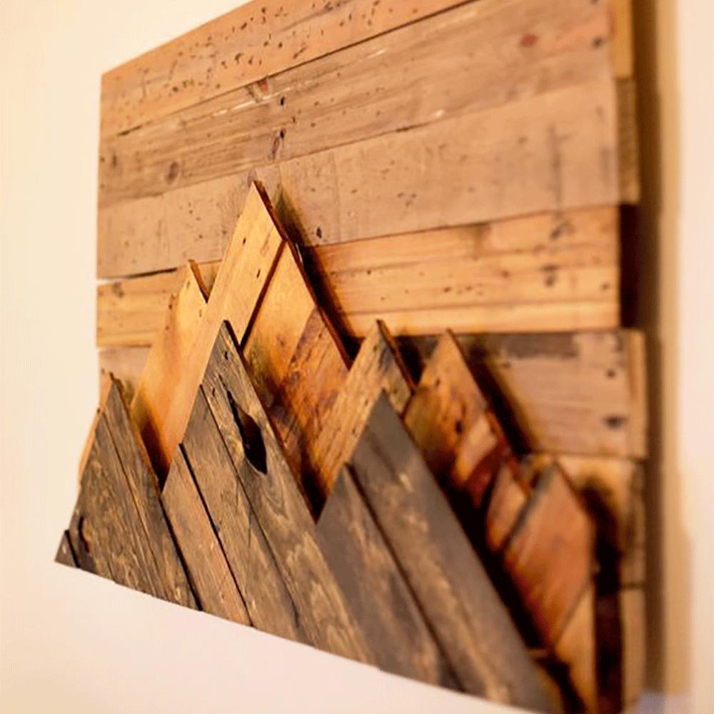 Обшивка стен деревом