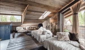 деревянный стиль в интерьере