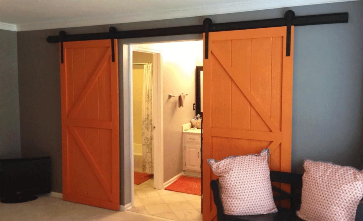 Изготовление раздвижных дверей происходит