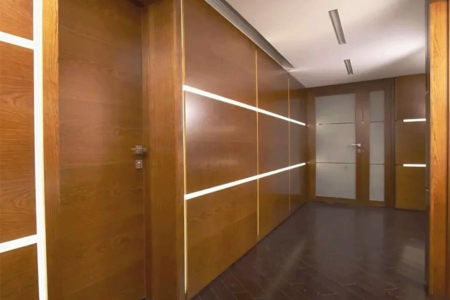установить стеновые панели из дерева на заказ